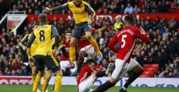 Арсенал и Манчестер Юнайтед футбол 2 декабря