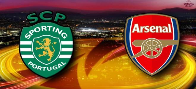 Прогноз на матч Лиги Европы: Спортинг – Арсенал