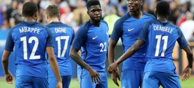 Французы не заметили расизма на матче с Россией