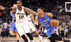 Оклахома-Сити Тандер – Сан-Антонио Спёрс, прогноз на матч НБА