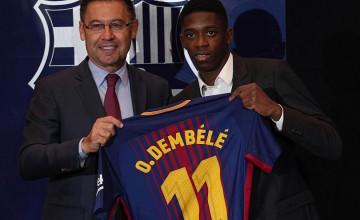 Дембеле не хочет уходить из Барселоны