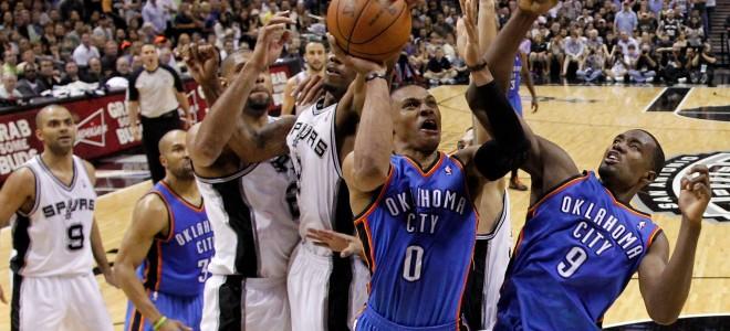 Сан-Антонио Спёрс – Оклахома-Сити Тандер, прогноз на матч НБА