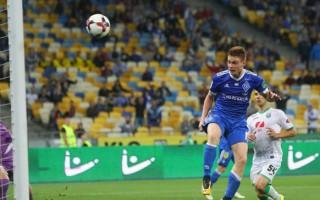 Цыганков сыграл 50 матчей за Динамо