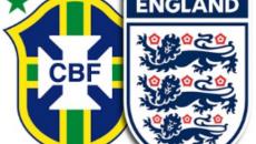 Бразилия и Англия футбол 14 ноября