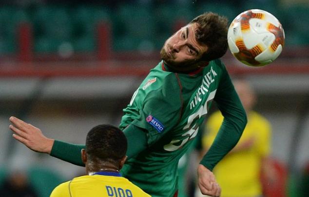 Злин и Локомотив футбол 7 декабря