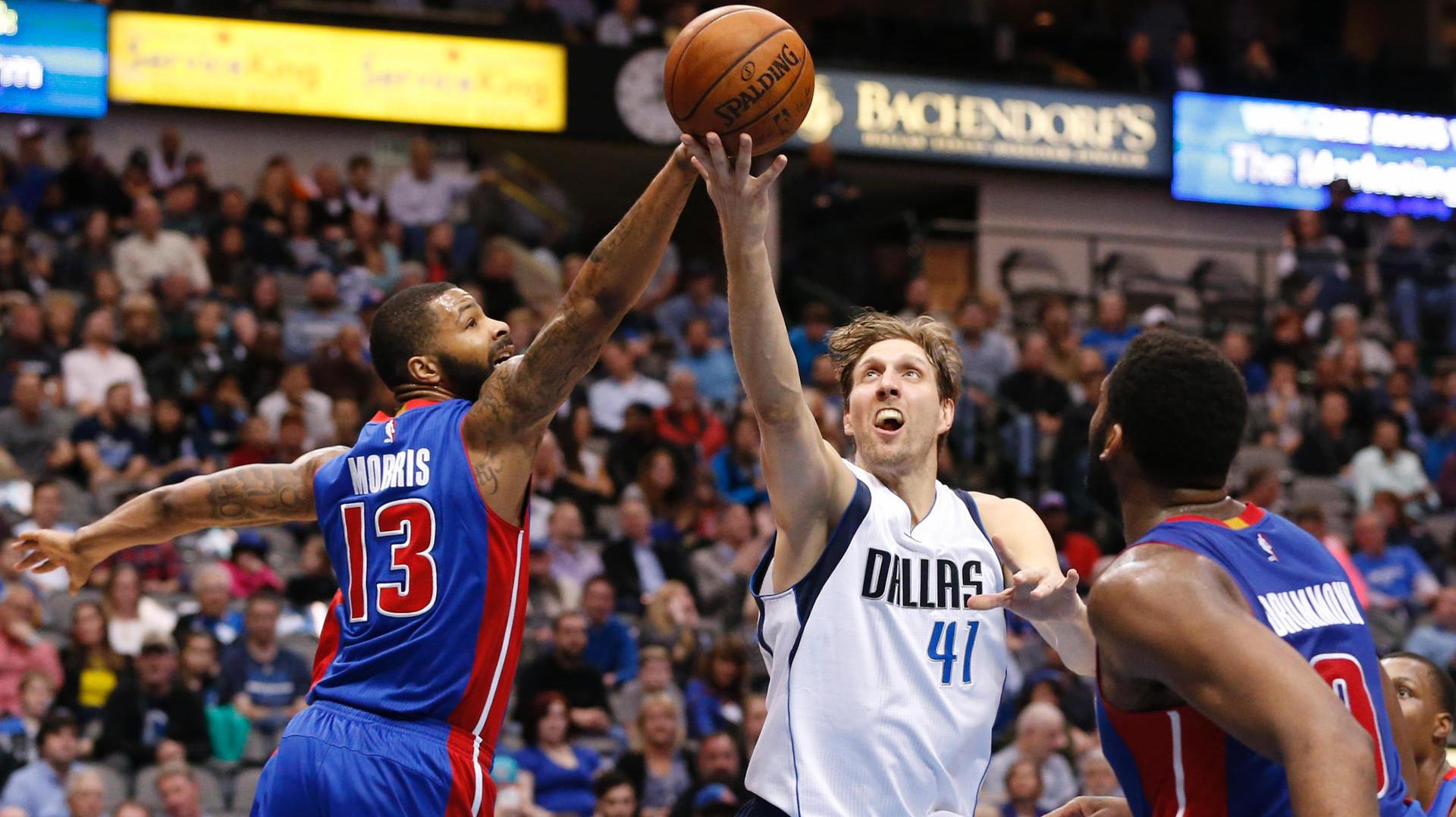 прогноз на матч НБА Детройт Пистонс - Даллас Маверикс