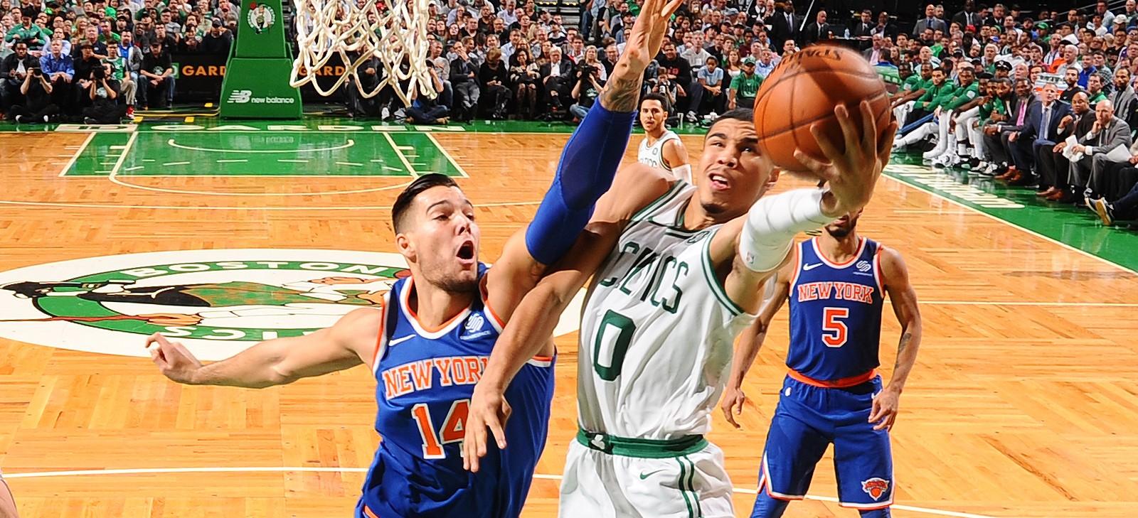 прогноз на матч НБА Нью-Йорк Никс - Бостон Селтикс