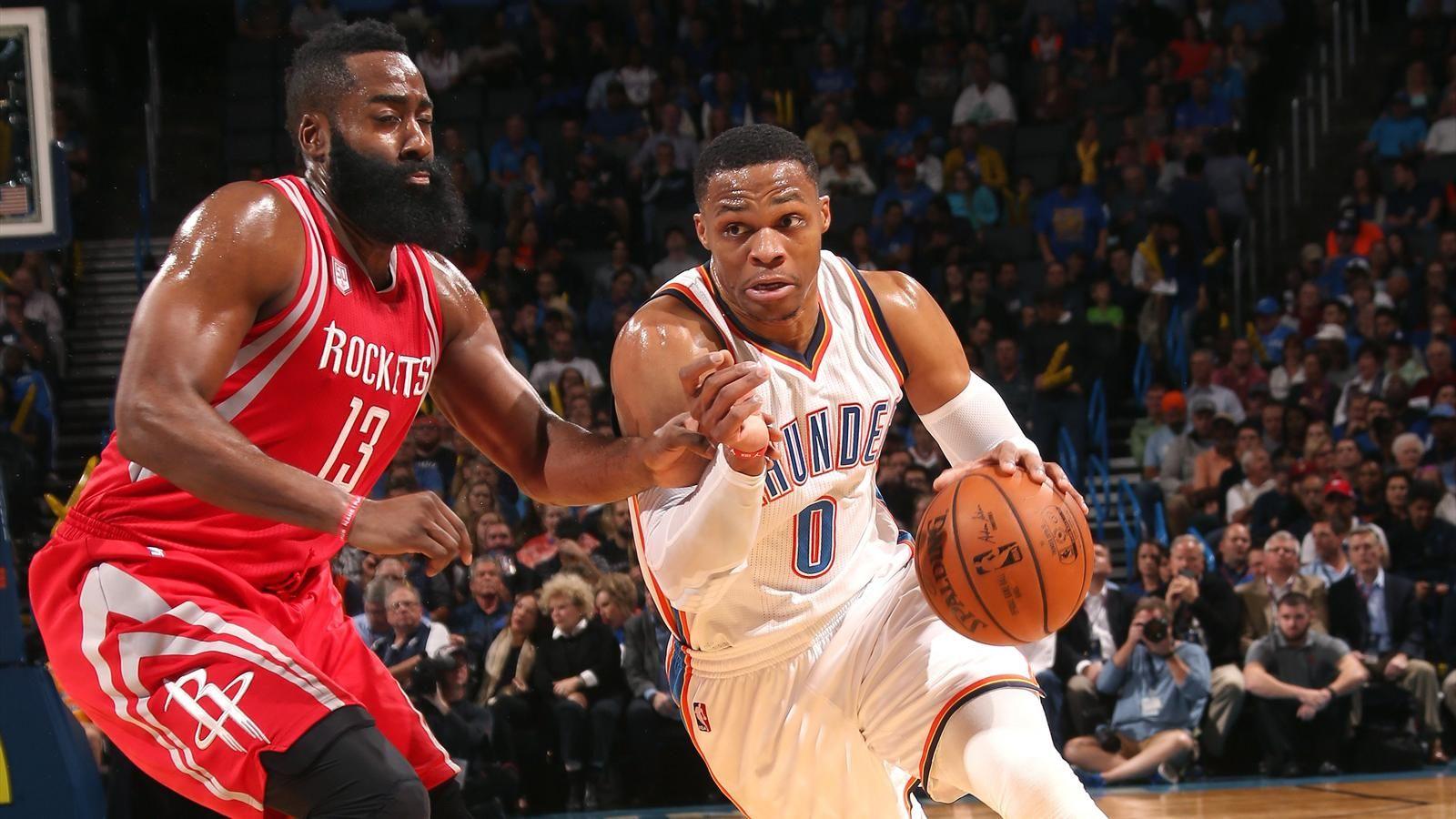 прогноз на матч НБА Хьюстон Рокетс – Оклахома-Сити Тандер