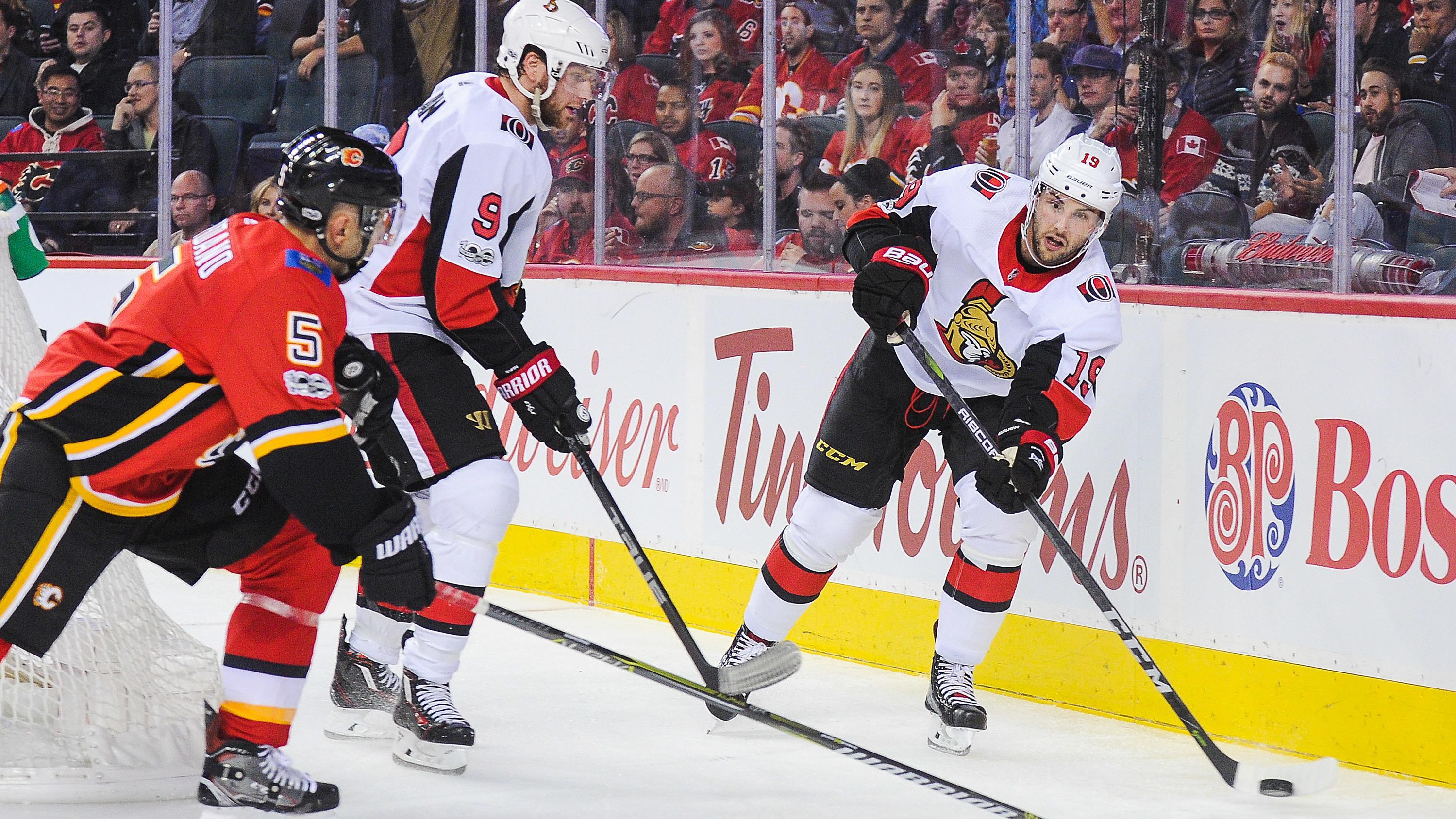 Прогноз на матч НХЛ 25 февраля 2019 года между командами Оттава - Калгари