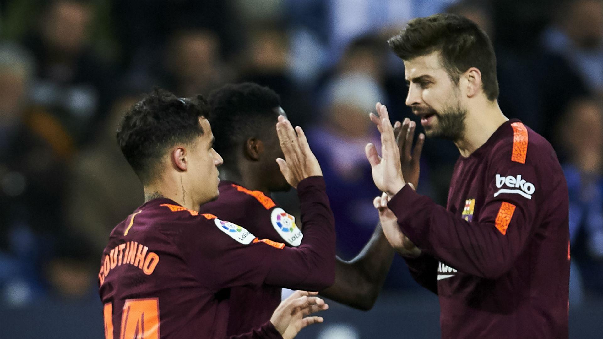 новости футбола - Пике поддержал Коутиньо, 10 марта 2019 года